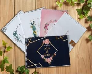 Info Buku Tamu Renda Pernikahan Isi 2 Buku Katalog.or.id