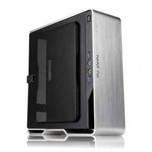 Harga inwin chopin silver   mini itx case included psu 150w 80plus   HARGALOKA.COM