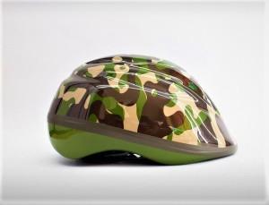 Harga helm sepeda anak army camo hijau polygon lipat | HARGALOKA.COM
