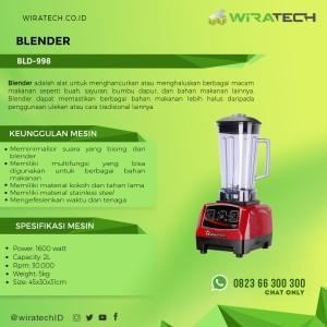 Harga blender bld 998   blender hi rpm untuk buah sayuran bumbu | HARGALOKA.COM