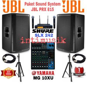 Harga paket sound system 15 inch jbl prx | HARGALOKA.COM