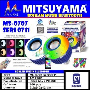 Harga bohlam lampu led music bluetooth speaker mitsuyama ms 0707 | HARGALOKA.COM
