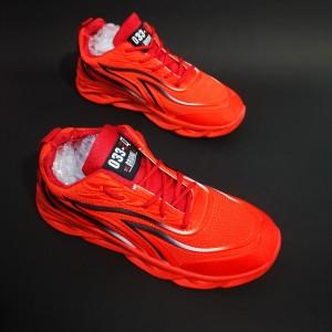 Harga sepatu sneaker pria wanita sport import fashion d33 red   | HARGALOKA.COM