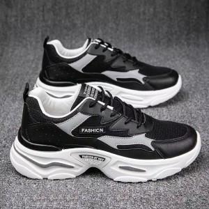Harga sepatu sneaker pria import original gk shoes52sepatu olah raga pria   hitam | HARGALOKA.COM