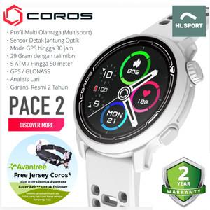 Harga coros pace 2 premium gps sport watch garansi resmi indonesia 2 tahun   | HARGALOKA.COM