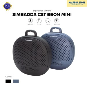 Harga simbadda cst 360n mini   portable bluetooth speaker   | HARGALOKA.COM