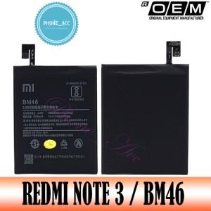 Harga baterai battery batre batrai xiaomi redmi note 3 3 pro bm46 | HARGALOKA.COM