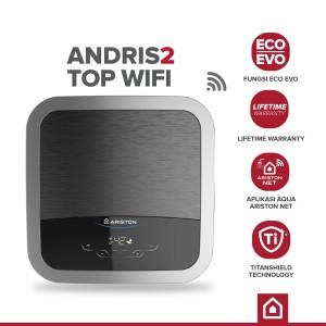 Harga pemanas air water heater ariston an2 top 15 350 wifi garansi   HARGALOKA.COM