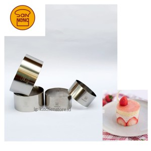 Harga sanneng round ring cetakan ring cake roti mini bulat sanneng   mix   | HARGALOKA.COM