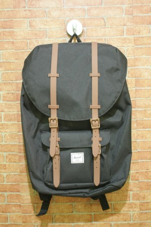 Harga original bnwt herschel little america backpack   black   | HARGALOKA.COM