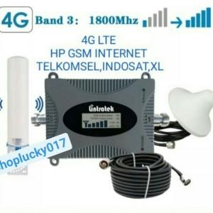 Harga penguat sinyal hp lintratek signal booster repeater 2g dcs   4g lte | HARGALOKA.COM