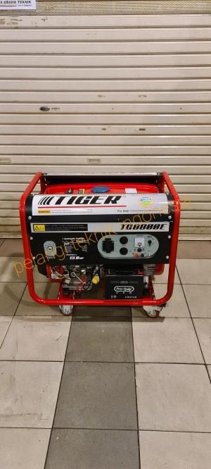 Harga genset 5000 watt   5500 watt bensin tiger tg 8800 e electric | HARGALOKA.COM