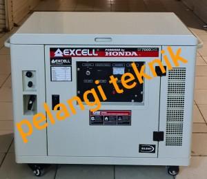 Harga silent genset honda 5 kva 5000 watt   5500 watt excell sf 7000 | HARGALOKA.COM