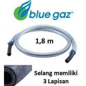 Harga blue gaz selang gas 3 lapis dengan pelindung alumunium anti tikus   | HARGALOKA.COM