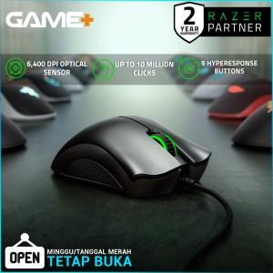 Harga razer deathadder essential gaming mouse with 6 400 dpi   HARGALOKA.COM