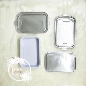 Harga aluminium foil tray 350 ml   wadah aluminium kemasan | HARGALOKA.COM