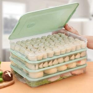 Harga kotak kontainer makanan kulkas storage food box kulkas organizer 1pcs   | HARGALOKA.COM