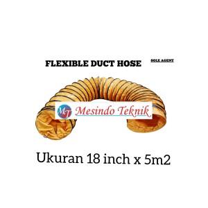 Harga selang blower flexible duct 18   HARGALOKA.COM