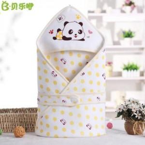 Harga selimut topi bayi berkualitas blanket gambar panda bahan nyaman   | HARGALOKA.COM