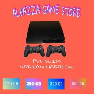 Harga ps3 slim ps 3 slim sony playstation 3 slim hdd 120 sd 500 gb full game   mesin aja   HARGALOKA.COM