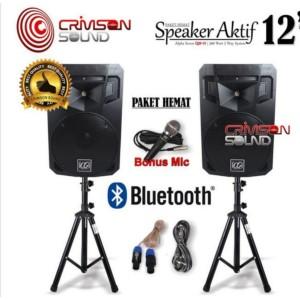 Harga paket sound 12 inch alpha seven speaker active aktif | HARGALOKA.COM