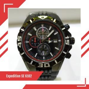 Harga jual jam tangan pria original expedition e 6102 m warna hitam merah | HARGALOKA.COM