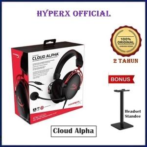 Harga kingston hyperx cloud alpha pro gaming headset with aluminum frame   unit | HARGALOKA.COM