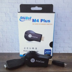 Harga alat hp ke tv wireless anycase m4 plus hdmi dongle usb wireles | HARGALOKA.COM