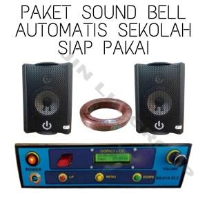 Harga paket sound bell automatis sekolah siap pakai dua | HARGALOKA.COM