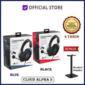 Harga hyperx cloud alpha s 7 1 surround sound gaming headset   biru unit | HARGALOKA.COM