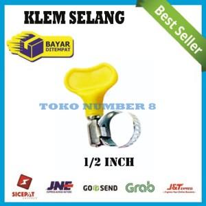 Harga klem selang gas kompor regulator selang air penguat anti bocor murah   1 per | HARGALOKA.COM