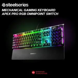 Harga mechanical gaming keyboard steelseries apex pro rgb omnipoint   HARGALOKA.COM