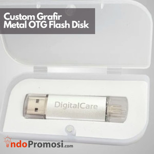 Harga custom grafir usb flashdisk otg metal   4gb s d 16gb   satuan grosir   8 | HARGALOKA.COM