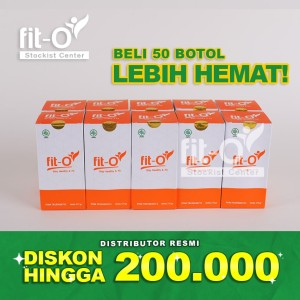 Harga fito fit o fit o herbal vitamin nutrisi suplemen probiotik 50   HARGALOKA.COM