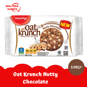 Harga oat krunch nutty chocolate 208 | HARGALOKA.COM