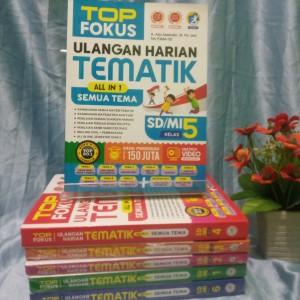 Harga buku best seller top fokus ulangan harian tematik all in 1 klas | HARGALOKA.COM