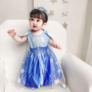 Harga talia frozen anna elsa terbaru disney princess kostum impor dress baju   | HARGALOKA.COM