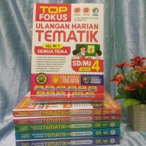 Harga buku best seller top fokus ulangan harian tematik sd klas | HARGALOKA.COM