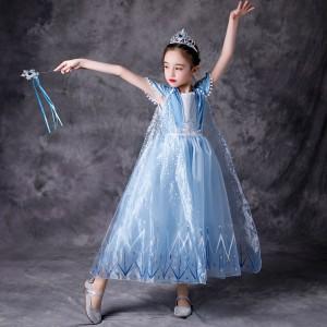 Harga mila frozen anna elsa terbaru disney princess kostum impor dress baju   | HARGALOKA.COM