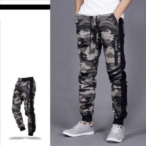 Harga celana joger pria army celana jogger army list panjang celana loreng   loreng abu | HARGALOKA.COM