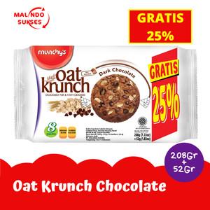 Harga oat krunch dark chocolate 208 gr gratis 25 | HARGALOKA.COM