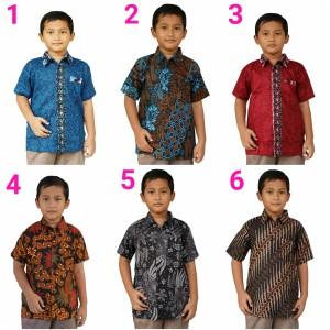 Harga hem anak batik anak batik modern anak baju anak fashion anak   4 5 | HARGALOKA.COM