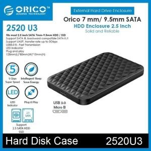 Harga casing hdd ssd hard disk drive enclosure 2 5 34 orico 2520u3 usb3 0   | HARGALOKA.COM