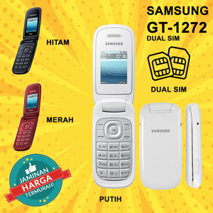 Harga hp hape handphone jadul samsung 1272 dual sim baru new termurah   HARGALOKA.COM