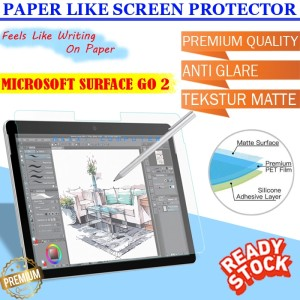 Harga microsoft surface go 2 go2 paper like screenguard antigores anti glare   | HARGALOKA.COM