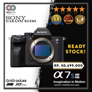 Harga sony alpha a7s iii body only mirrorless digital camera | HARGALOKA.COM