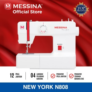 Harga mesin jahit messina new york | HARGALOKA.COM