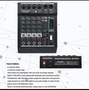 Harga mixer hardwell 4 channel bestmix 6xu | HARGALOKA.COM