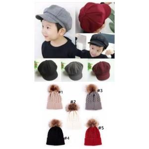 Harga topi bayi winter untuk laki laki dan perempuan unisex   abu muda gambar | HARGALOKA.COM