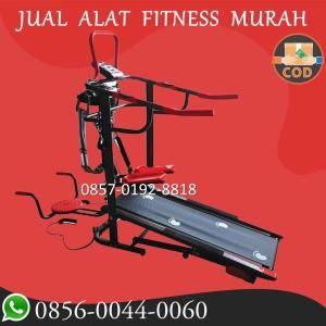 Harga alat fitness treadmill manual tl 004 new total 6 fungsi | HARGALOKA.COM